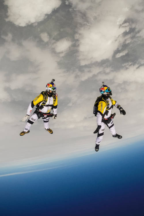 Skydiving Over Mont Blanc