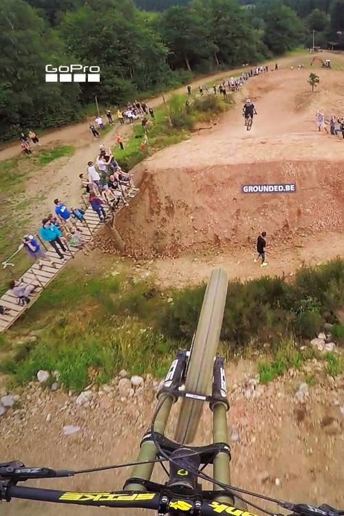 Insane MTB Train
