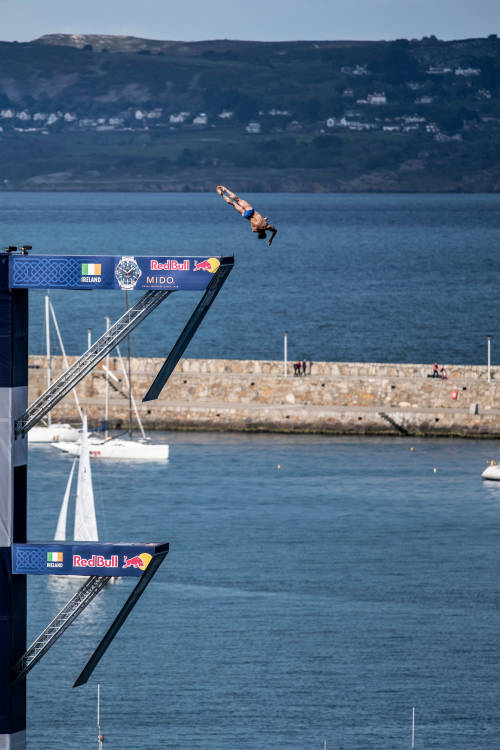 Men's winning dive – Dublin