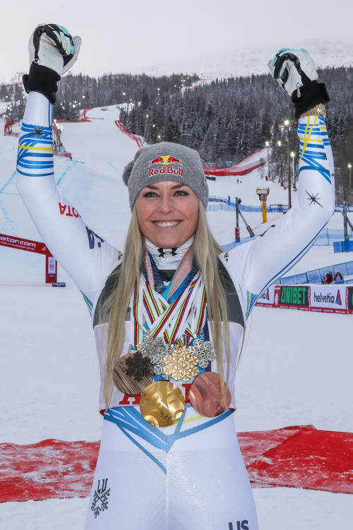 Lindsey Vonn: Carving a Legacy