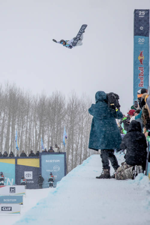 Men's 3rd place halfpipe run
