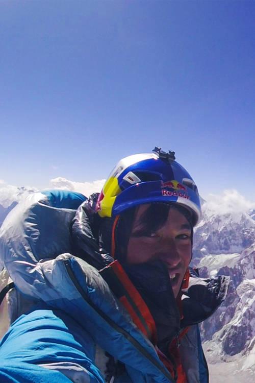 David Lama's successful solo attempt