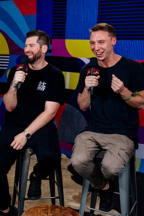 Interview with ODESZA