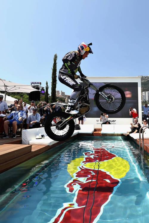 Can Dougie Lampkin jump the pool?