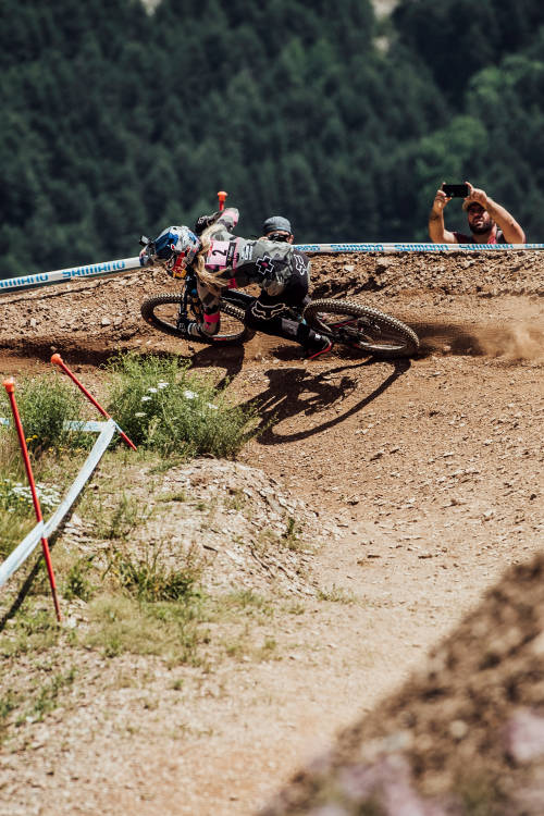 Top 3 qualifying women – Vallnord