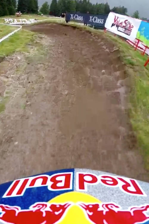 Val di Sole DH qualifying run