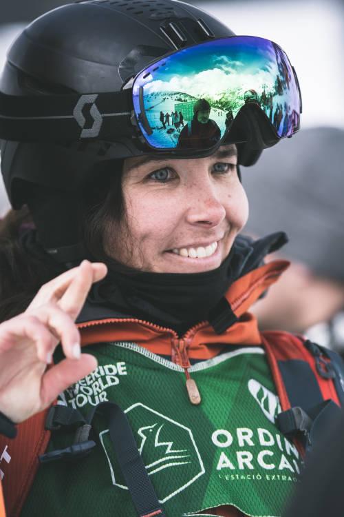 Jaclyn Paaso's POV winning ski run – Andorra