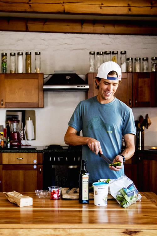 Ryan Sandes's nutrition
