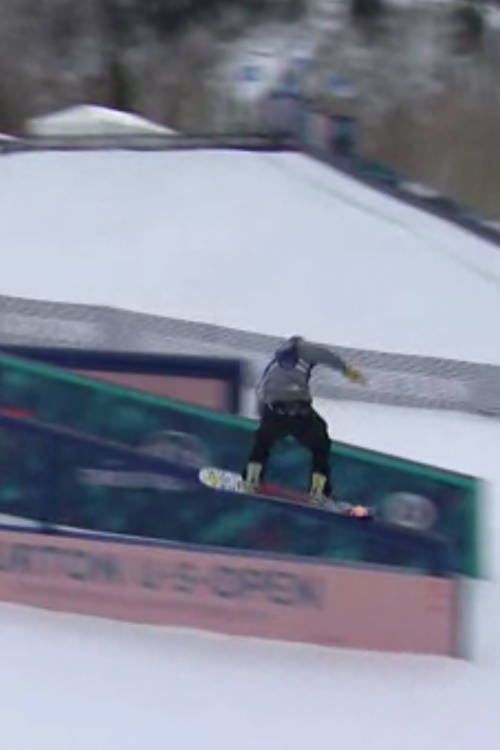 Chris Corning – 2nd Place Slopestyle Run