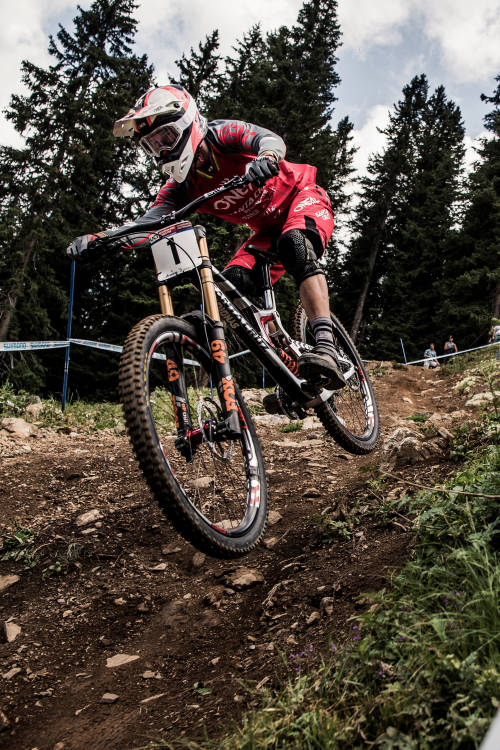 Greg Minnaar's winning run at Lenzerheide