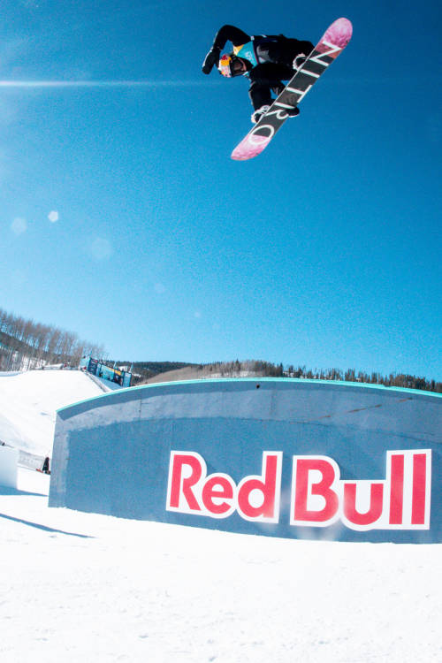 Women's winning slopestyle run