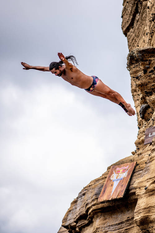 The history of Red Bull Cliff Diving