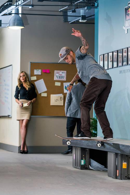 Office Skate Session