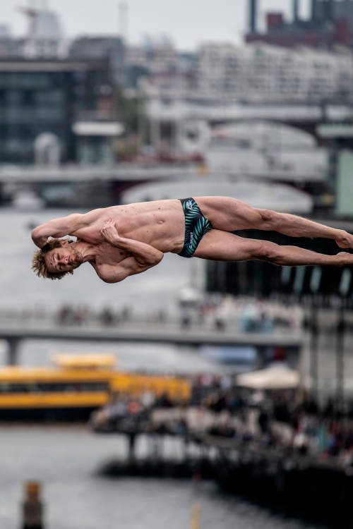Men's winning dive at Copenhagen