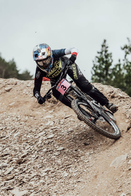 Myriam Nicole's winning run at Vallnord
