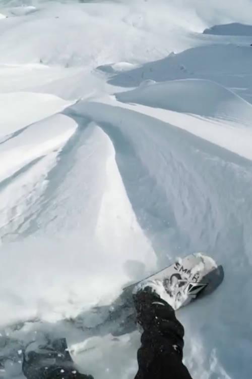 Riding Big Mountain Lines