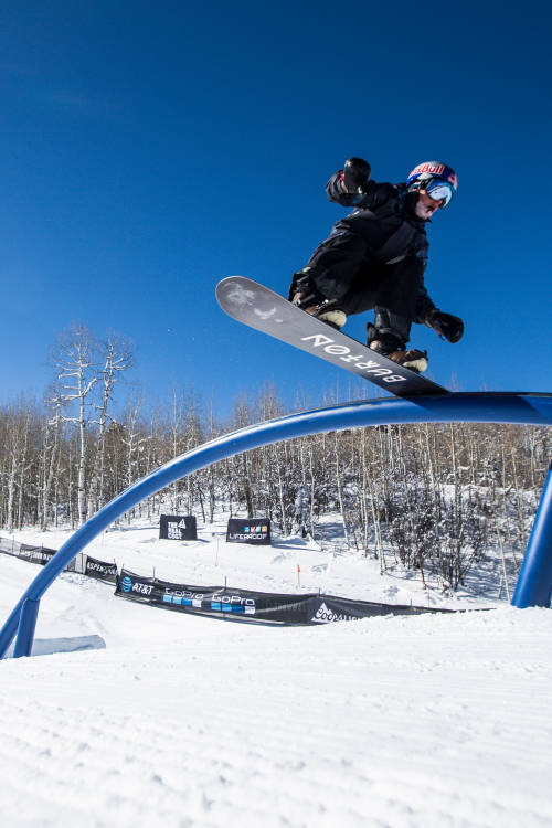Mark McMorris lands a world-first trick