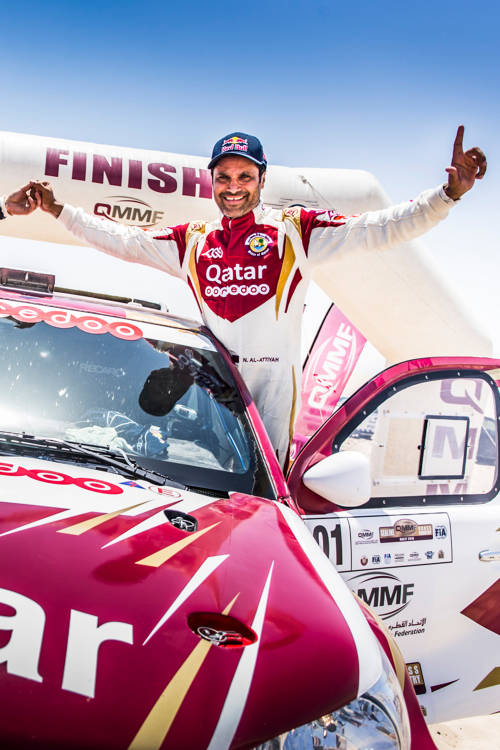 Al-Attiyah and Baumel's partnership