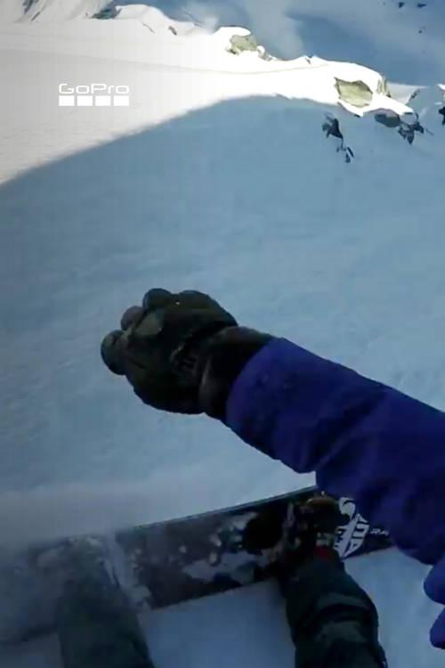 Women's Snowboard Winning Run