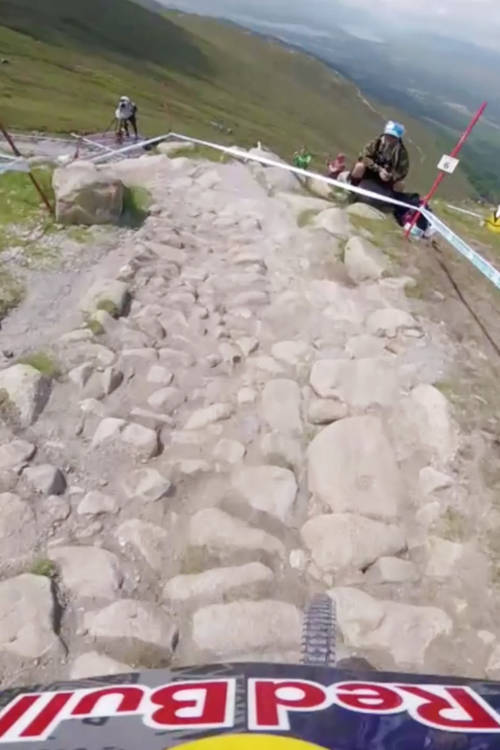 Rachel Atherton's POV – Fort William