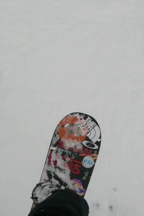 Women's Snowboard Winning Run – Verbier