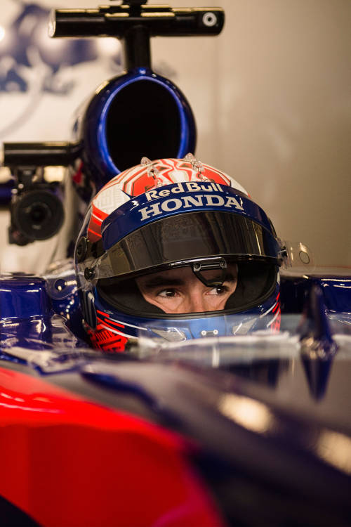 Marc Márquez test drives F1