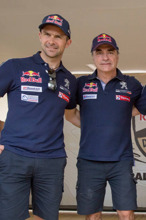 Red Bull's Desert Wings team revealed