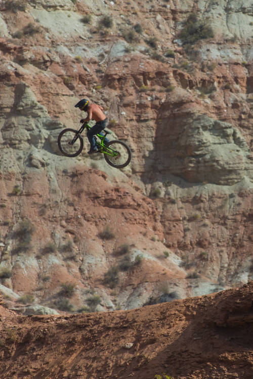 The spirit animal of Red Bull Rampage