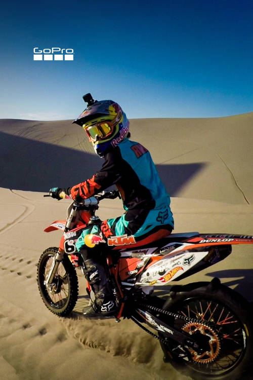 Shredding Idaho Dunes