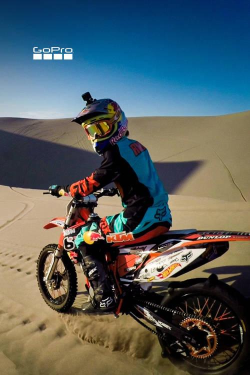 Shredding Idaho Dunes