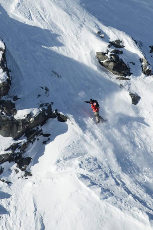 Davey Baird's Snowboard Run – Verbier