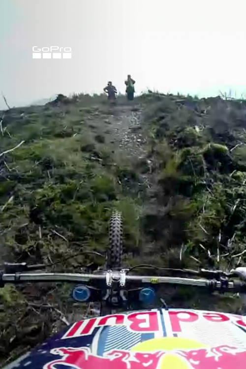Gee Atherton DH in Wales