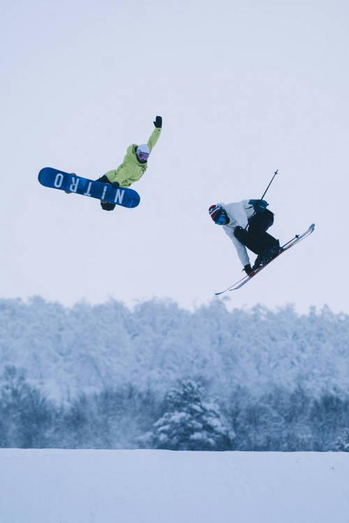 Marcus Kleveland's Snowy Paradise