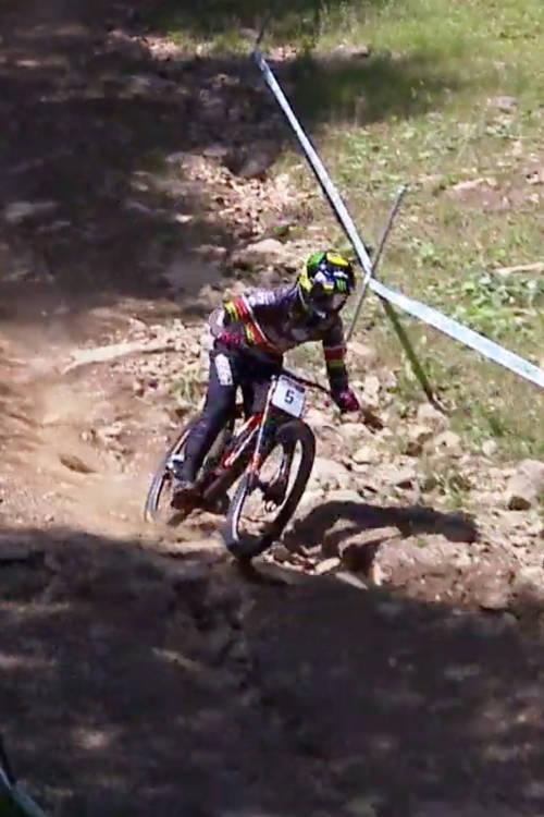 Men's DH qualifying, Mont-Sainte-Anne