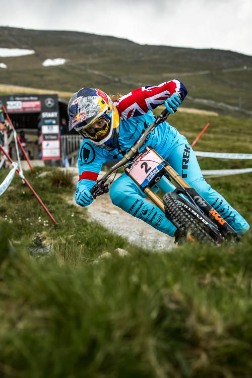 Rachel Atherton's Run – Fort William