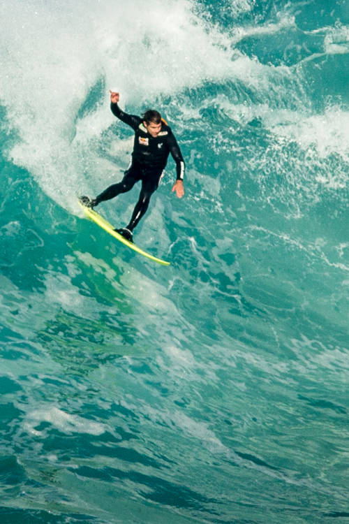 Tow-in Surfing: Portugal