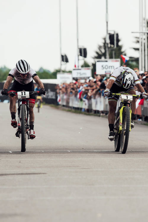 How to sprint finish