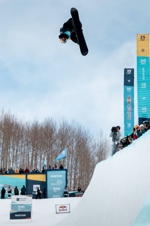 Men's winning halfpipe run