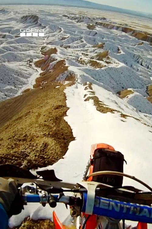 A Snowy Ridgeline
