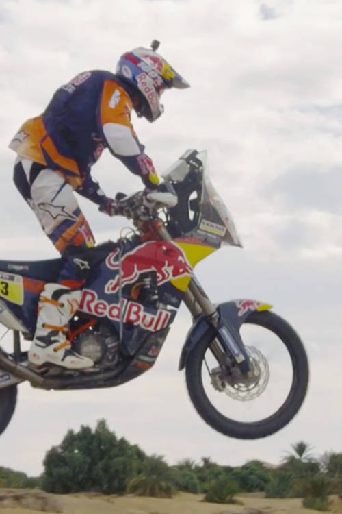 Toby Price jumps at speed – in slo-mo