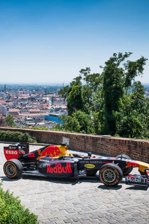 Austrian GP showrun