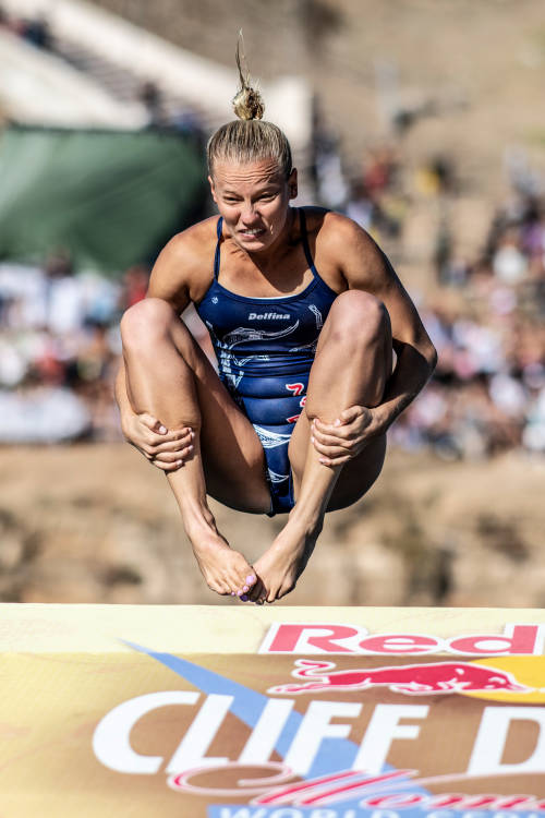 Rhiannan Iffland's best dive – Italy