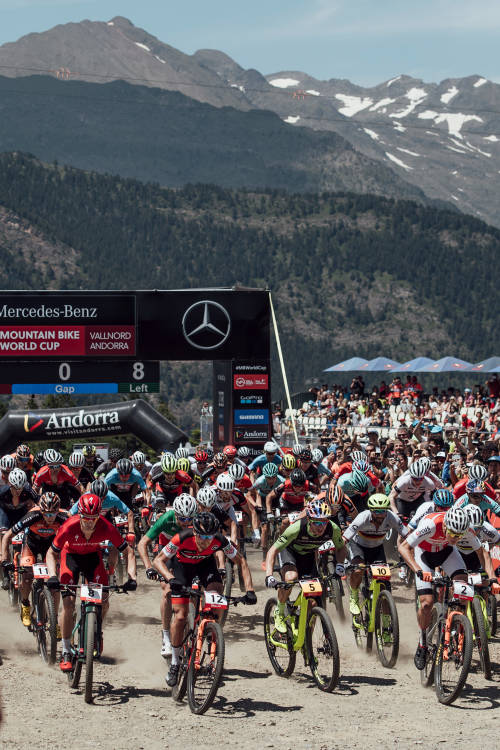 XCC finals at Vallnord