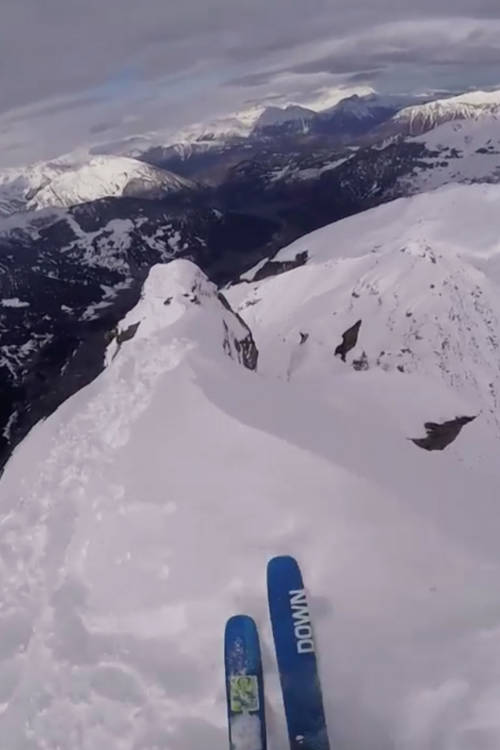 Mickael Bimboes' GoPro Ski Run – Verbier