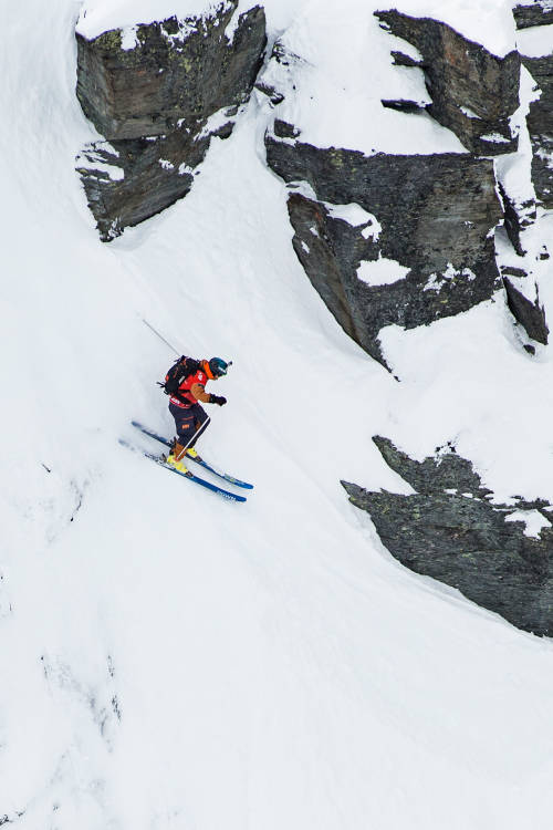 Men's Ski Winning Run – Verbier