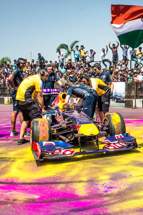 F1 Show Run in Hyderabad