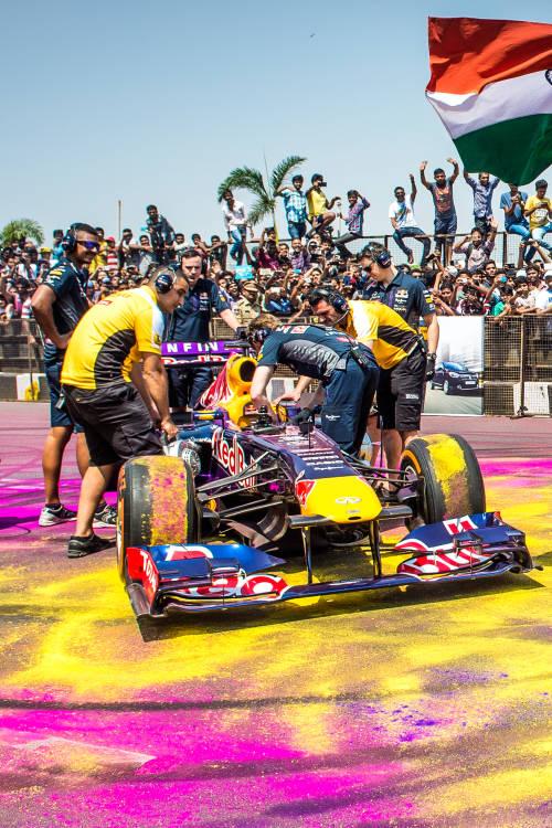 F1 Show Run in Hyderabad