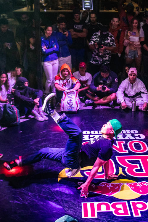 B-Boys semi-final battle