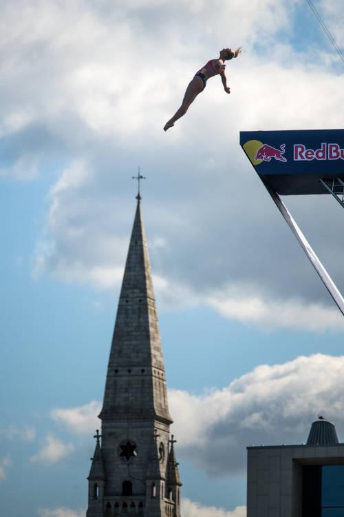 Women's top 3 dives – Dublin