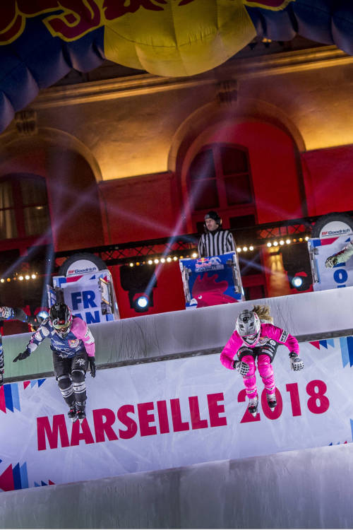 Jacqueline Legere's winning run – Marseille
